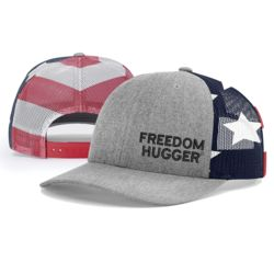 Freedom Hugger RWB Richardson Cap Thumbnail